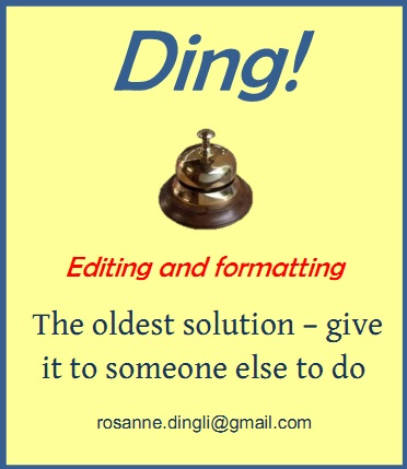 Editing and Formatting services